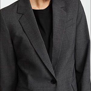 NWT Theory Gabe blazer in Dark Charcoal